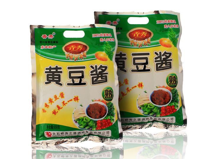 香秀黄豆酱   650g